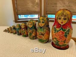 11 Pc. Russian Nesting Dolls