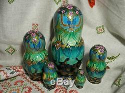 Author's russian matryoshka Based on the fairy tale the Frog Princess