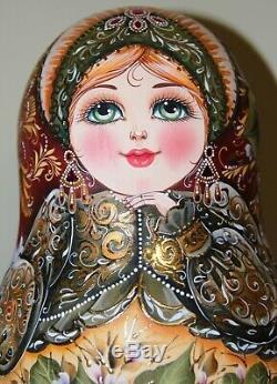 Author's russian matryoshka Marya