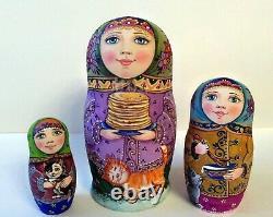 Author's russian matryoshka Pancakes