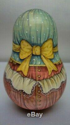 Author's russian matryoshka Rolly Polly Bell Doll Jaroslava