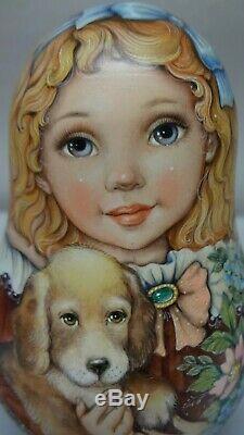 Author's russian matryoshka Rolly Polly Bell Doll Ulyana