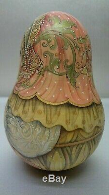 Author's russian matryoshka Rolly Polly Bell Doll Vasilisa