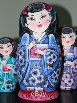 Author's russian matryoshka Sakura