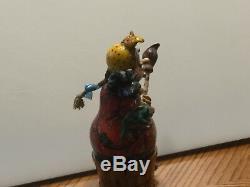 Baba Yaga witch nesting doll