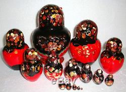 Beautiful Russian Nesting Doll 15pc7GORGEOUSMADE IN RUSSIAWITH A GIFT BAG