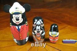 Disney Cruise Line MATRYOSHK RUSSIAN NESTING DOLL Magic Dream Wonder Fantasy DCL