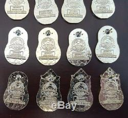 Disney Pin Mystery Collection Series Russian Nesting Dolls Complete Set of 16