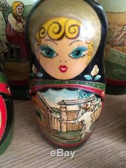 Genuine Russian Matryoshka Dolls