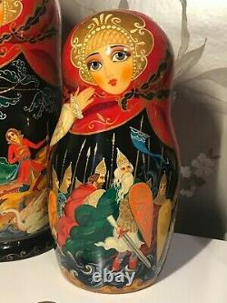 Genuine Russian doll set of 10. New 10 Matryoshka