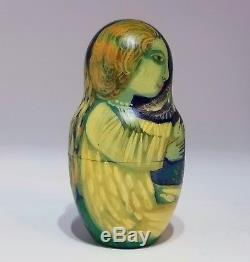 HAND PAINTED Matryoshka Doll by Renowned Russian Artist Maria Streltsova