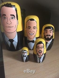 Impractical Jokers Russian Nesting Doll Boxed Rare Collectible
