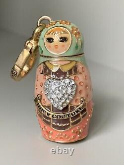 Juicy Couture Russian Nesting Doll Matryoshka Matreshka Charm YJRU2428