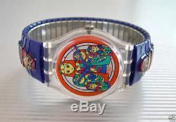 MATRIOSKA! Flex RUSSIAN NESTING DOLLS Small Swatch! NIB-RARE