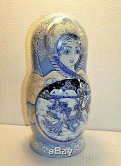 Matryoshka 10-doll 12 Russian nesting doll doll russian art matryoshka babushk