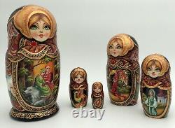Matryoshka, Russian Nesting dolls, Babushka