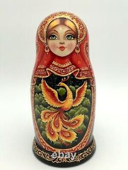 Matryoshka, Russian Nesting dolls, Babushka, Phoenix, Firebird