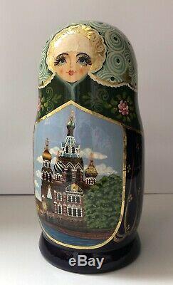 Matryoshka, Russian Nesting dolls, Babushka, Saint-Petersburg