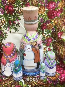 Matryoshka, nesting doll, Russian nesting doll, Russian souvenir, Christmas
