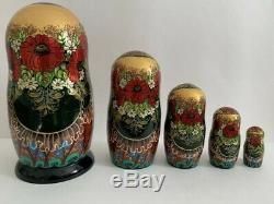 Matryoshka nesting doll russian doll