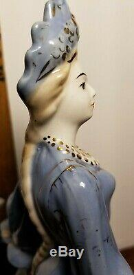 Mistress of The Copper Mountain 10 Russian USSR Figurine Gzhel malachite maid