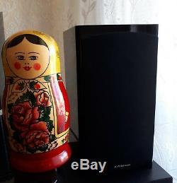 NEW VIintage Set 9 Russian Wooden Hand Painted Matryoshka Nesting Dolls Rare