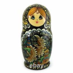 Nest Doll Russian Folklore Matryoshka Babushkin Doll Russian Matryoshka