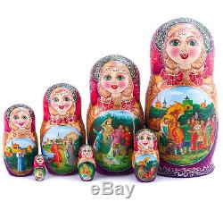 Nesting Doll Matryoshka Russian Doll Fairytale The Little Humpbacked Horse