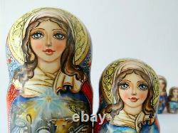 Nesting Doll Nativity Set of 5 (Russian Collection Sacramento) Sale