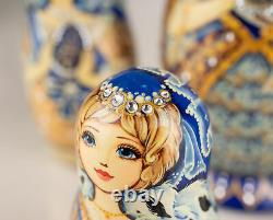 Nesting dolls Empress Matryoshka Russian doll Exclusive wooden nesting dolls