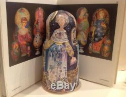 Ooak S. Goryachy Vintage Unique Russian Nesting Doll 7 Pcs My Sadness 1997