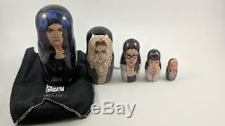 Orphan Black Russian Nesting Dolls Set Ultra Rare BBC America Promo Collectable