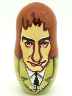 QUEEN Freddie Mercury Matryoshka Russian nesting doll Brian May Roger Taylor 5