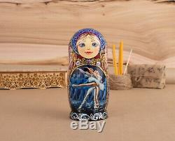 Russian Ballet Matryoshka Nesting dolls Ballerina doll Wood art Home decor