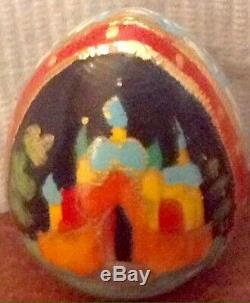 Russian Fairy Tales Rare 5 Nesting Dolls Matryoshka Hand Painted