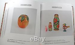 Russian Folk Art Catalog Reference Book Nesting Dolls English/Russian Hard Cover