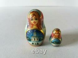Russian Matryoshka 10 doll set Christmas Angel