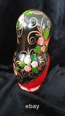 Russian Matryoshka Hand Painted Nesting Dolls 10 pcs fairy tales Ceprueb Nocag