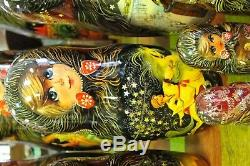 Russian Matryoshka Nesting Dolls (20)