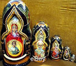 Russian Matryoshka Nesting Dolls Babushka