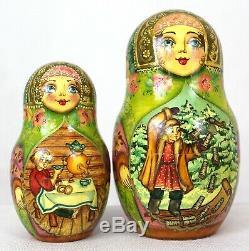 Russian Nesting Doll (matrioshka, matryoska) -Magic Pike Fairy Tale