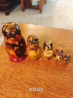 Russian Nesting Dolls Dog