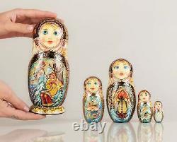 Russian Nesting Dolls Matryoshka dolls Russian dolls Morozko Nested doll