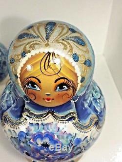 Russian Nesting doll, Matryoshka 10 pcs set