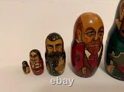 Russian Politician Nesting Dolls matryoshka