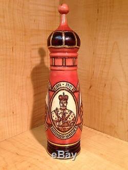 Russian Tsars Matryoshka Nesting Doll Bottle Holder Vodka Handmade New 9 New