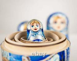 Russian ballet nesting dolls (Swan Lake nesting dolls) Ballerina nesting dolls