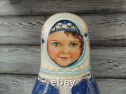 Russian doll MATRYOSHKA Roly Poly Alyonushka