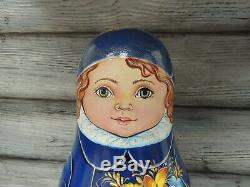 Russian doll MATRYOSHKA Roly Poly Petya