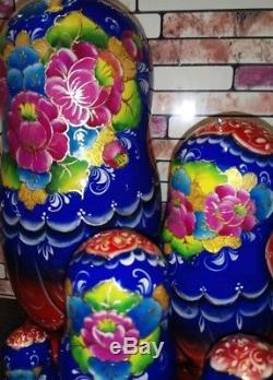 Russian matryoshka doll nesting babushka beauty Tales fair handmade exclusive